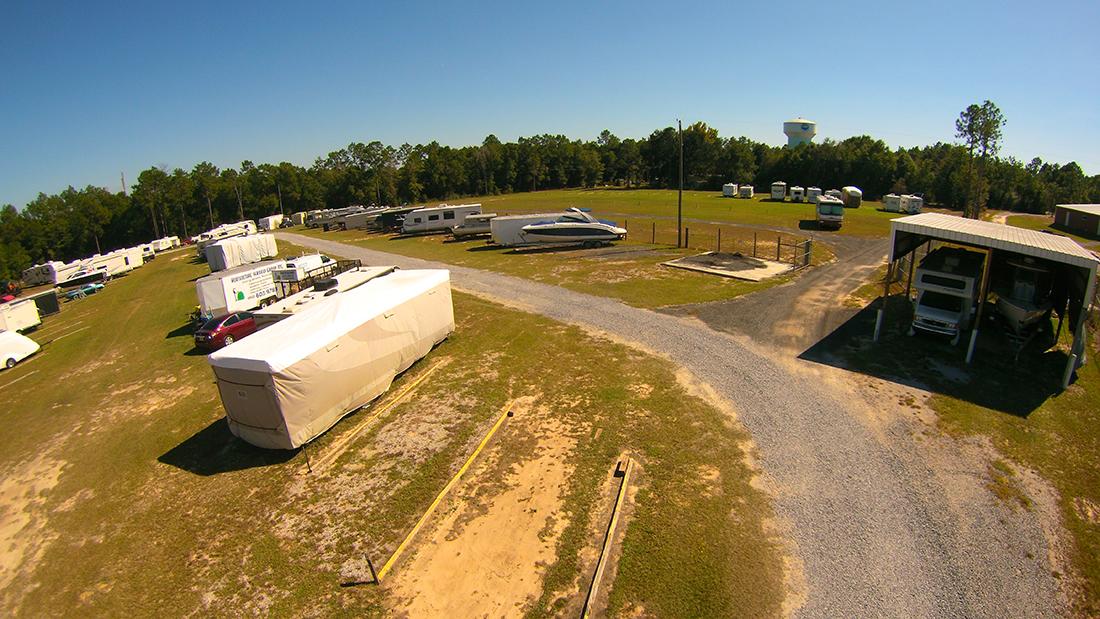 outdoor storage in crestview fl & Outdoor RV Storage Gallery - RV Boat and Self Storage | Crestview FL